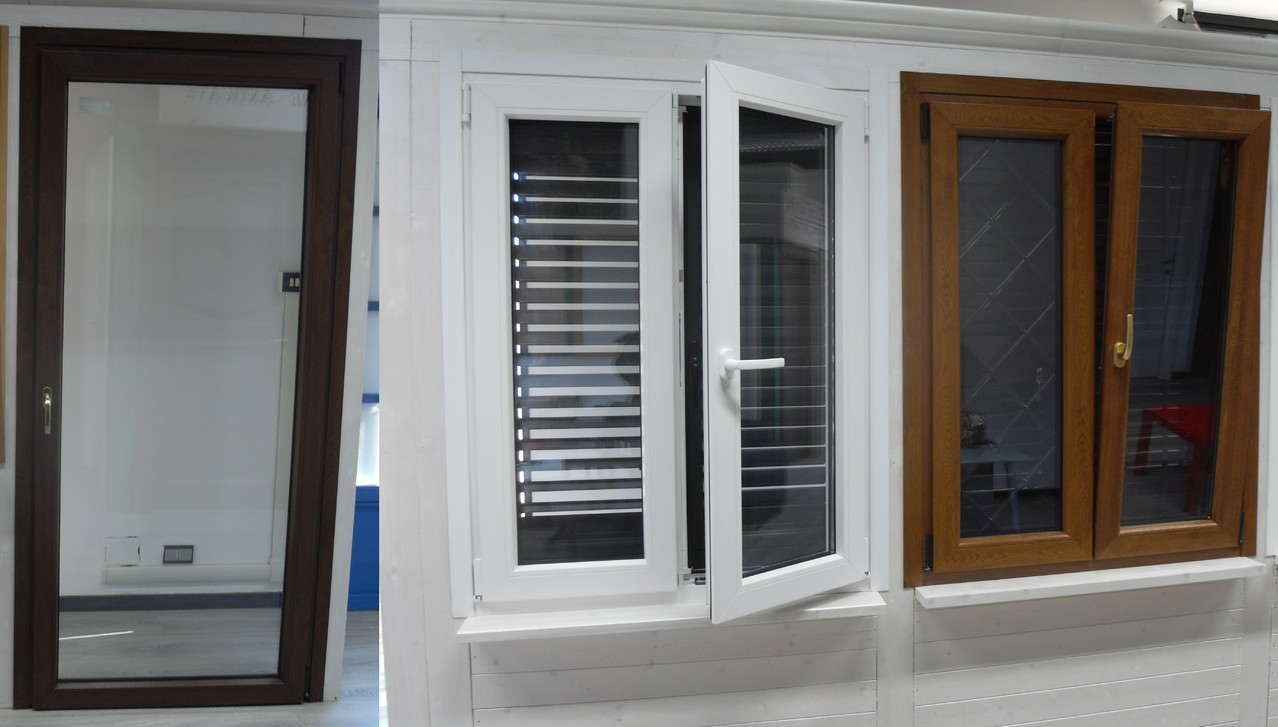 Serramenti in pvc milano serramenti qfort milano in pvc - Costo porta finestra pvc ...